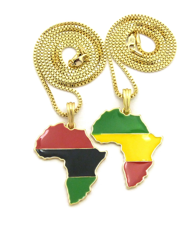 New africa double pendant u