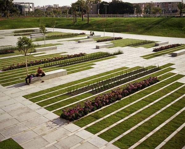 Elegant Square Sets The Stage For University Students Modern Landscape Design Landscape Architecture City Parks Landscape
