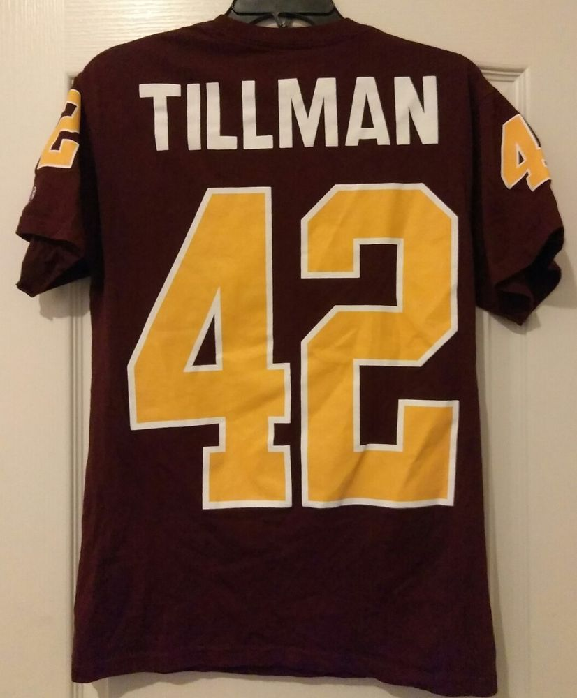separation shoes 0867b 02deb Champion Arizona State University Pat Tillman Jersey T-Shirt ...