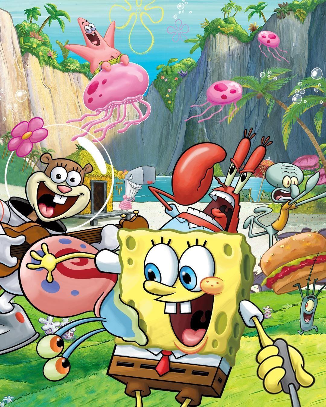 "SpongeBob SquarePants on Instagram: ""We don't all take the ..."