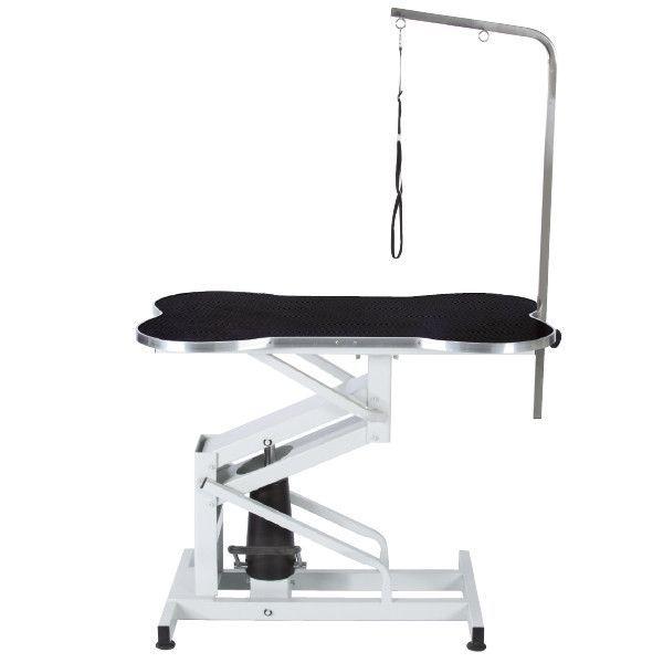 Bone Shaped Hydraulic Table Table Top Design Dog Bath