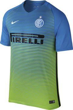 Tercera Camiseta Inter De Milan 2016 2017  b2eb20b4e0b7c
