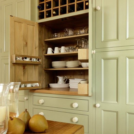 Country Kitchen Painted Cupboard