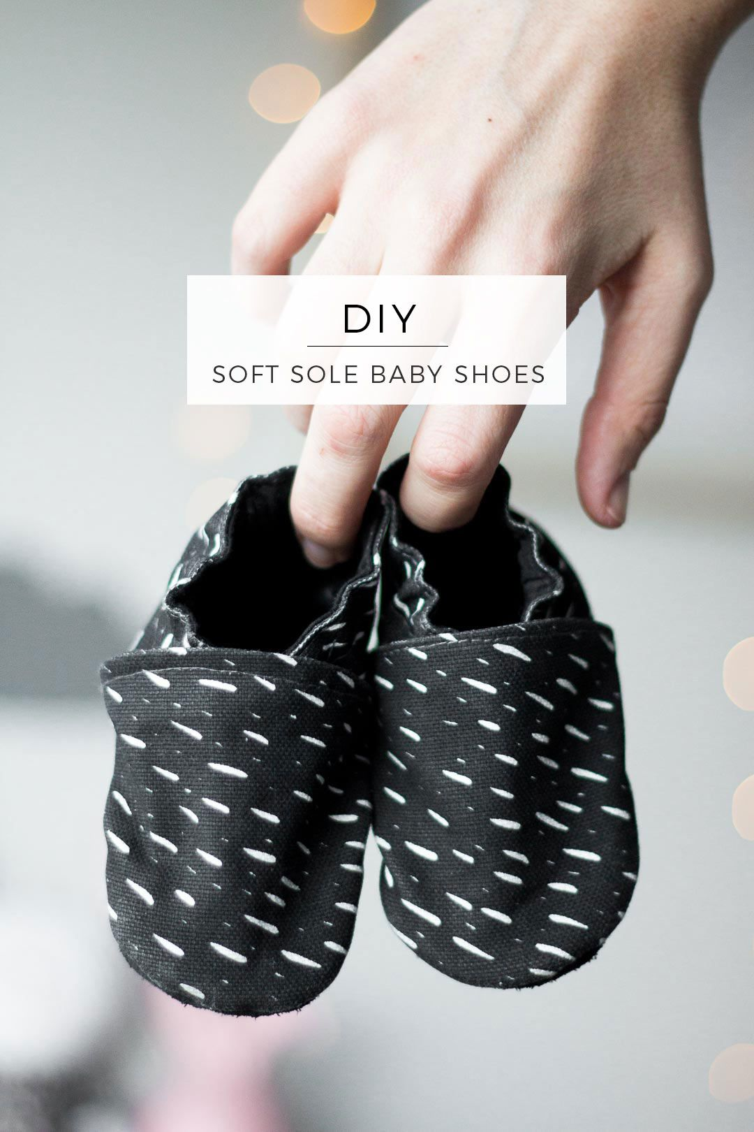 Soft Sole Baby Shoes DIY // Tutorial