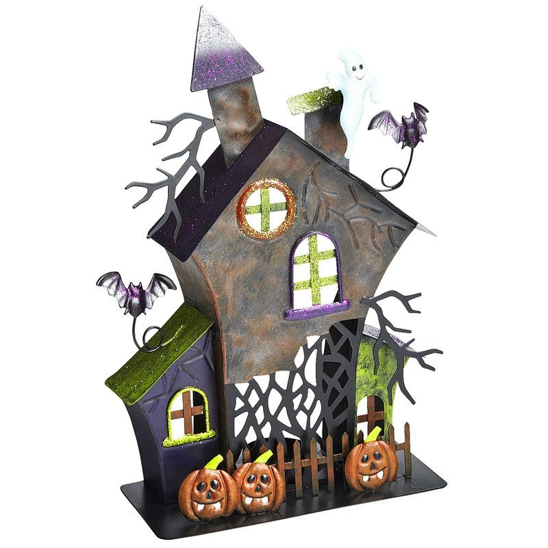 how to make a haunted house out of paper