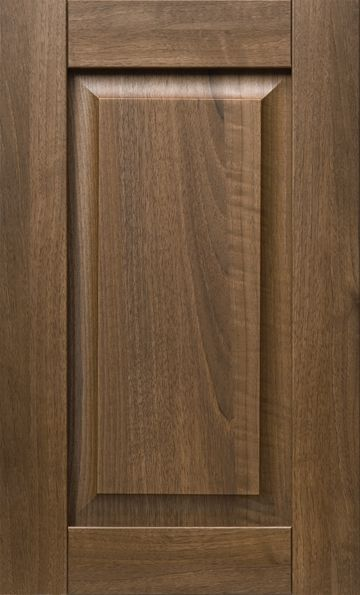 Bassano in Dark Italian Walnut kitchen cabinet walnut