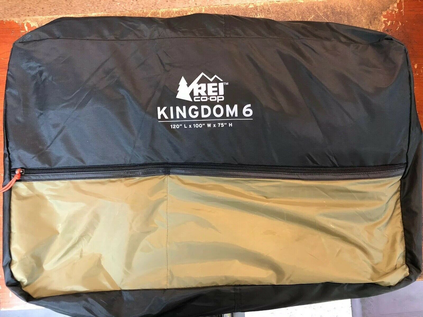 Rei Co Op Kingdom 6 Deluxe Car Camping Tent Forest Floor