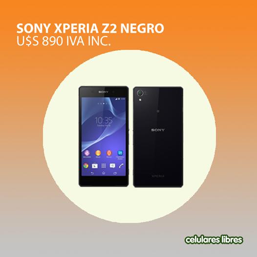 Con el Sony Xperia Z2 tenés velocidad garantizada y una gran resolución. Personalizalo con las aplicaciones que más te gusten. Encontalo aquí: http://celulares.com.uy/celulares/sony/xperia-z2-blanco