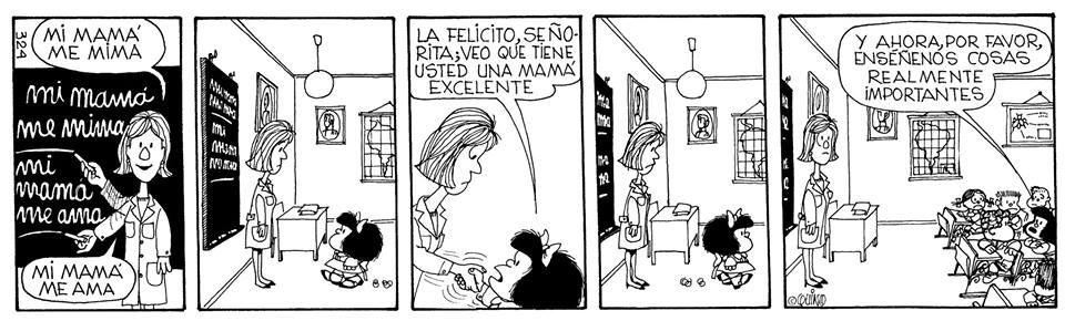 Image result for mi mama me ama mafalda