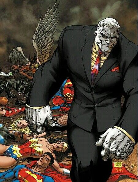 SOLOMON GRUNDY •Michael Turner.  What I love most about this, batman is the only one trying to get up still.