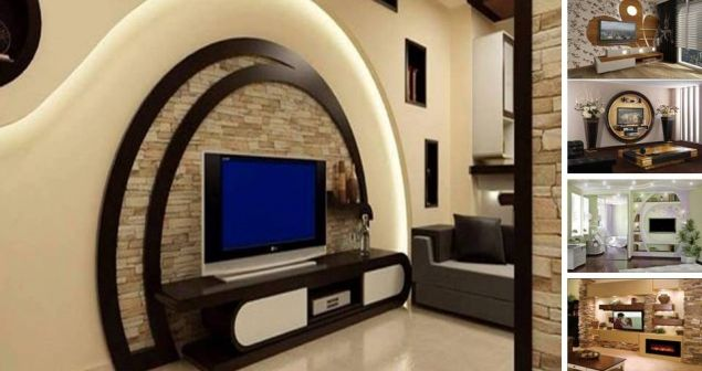 Come On Take A Look In The Following 15 Incredible Tv Wall Unit With Led Lighting That Look Lik Tv Unit Design Wall Tv Unit Design Living Room Tv Unit Designs