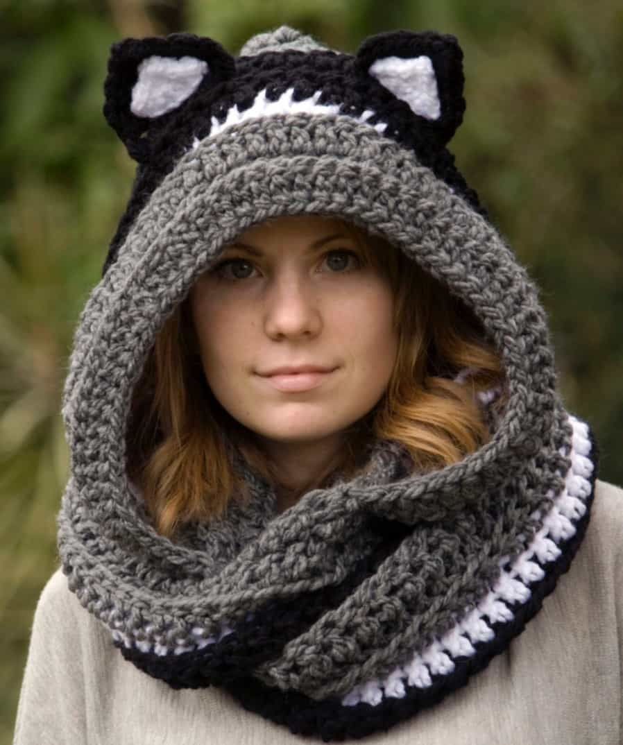 Crochet Animal Scoodie Pattern Free Tutorial Plus Video Instructions ...