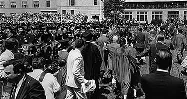 June 8 1966270 Walked Out Of Graduation Ceremonies At New York University Nyu To Protest The Presentation Of York University Honorary Degree History Lessons