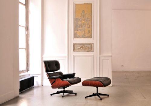 Fauteuil Lounge Noir Location Fauteuil Design Charles Ray - Fauteuil design charles eames