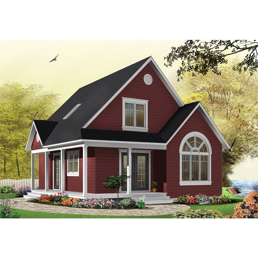 The House Designers Thd 1197 Builder Ready Blueprints To Build A Country House Plan With Basement Foundation 5 Printed Sets Walmart Com In 2021 House Styles Red House Exterior Basement House Plans