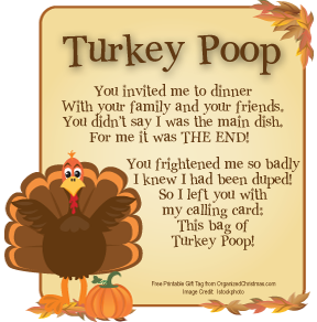 Looking for a silly treat for Thanksgiving? it's Turkey Poop! Just right for a g…