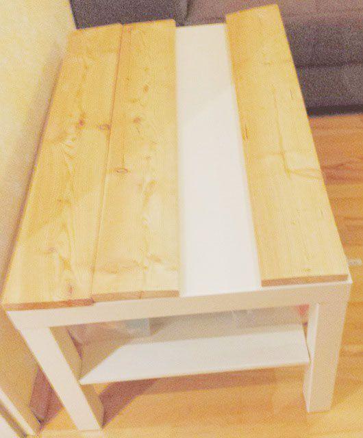 landhaus tisch selber machen diy wohnzimmer f r mein schatz und diy wohnideen. Black Bedroom Furniture Sets. Home Design Ideas
