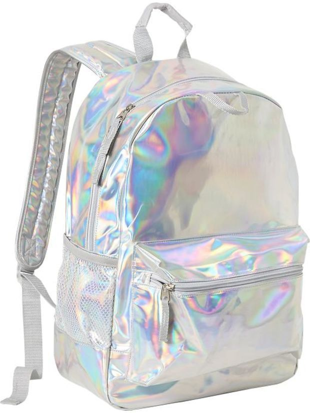 3607022d8a34 Old Navy Girls Iridescent Backpacks Size One Size - Iridescent ...