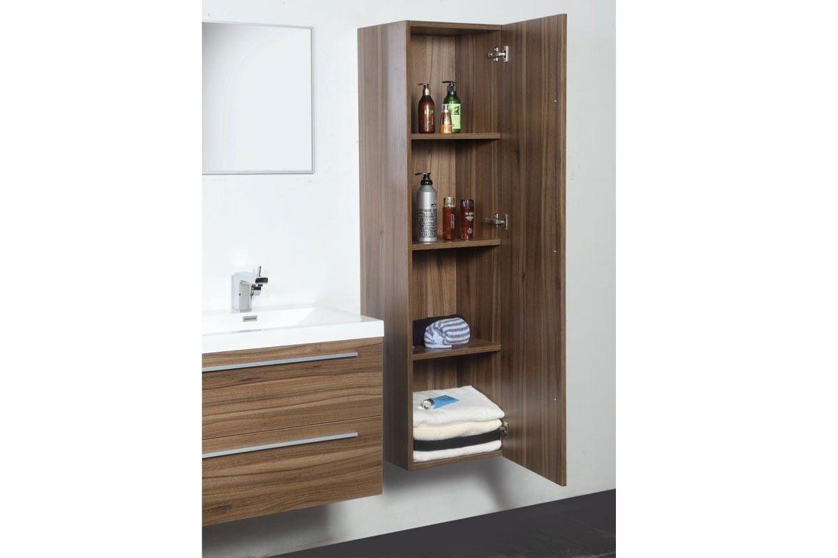 Meuble de salle de bain double vasques 120 cm colonne miroir ...