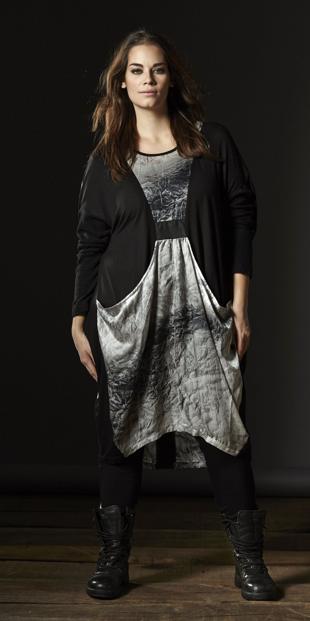 N+ by NÖR Denmark silk blend print dress from stockist idaretobe