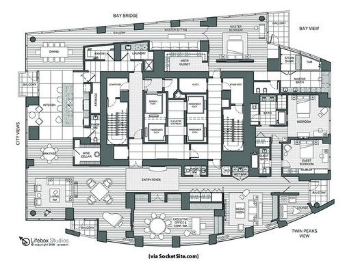 a923ef474e6bf66c5aaed532257265db Luxury Pent House With Gym Building Floor Plan on