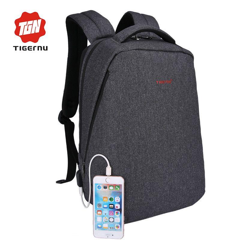 21ef72d9ad2 Tigernu College Backpack for School Backpack Fashion USB charging School  Bags for Men Women 15.6 Inch Laptop Backpack for men  backpack  L09582   Happy4Sales ...