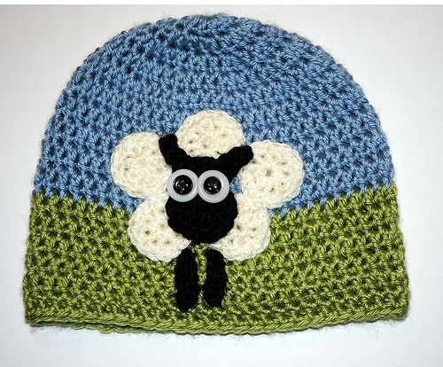 Ravelry: MamaMellie\'s Sheep Hat 6 Circle Sheep Hat by Jennie Claver ...