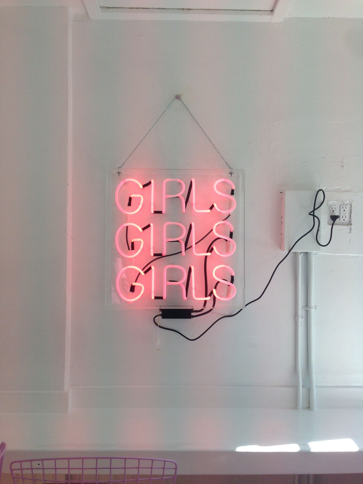 Custom neon sign from Los Angeles Neon  I would love to do one of