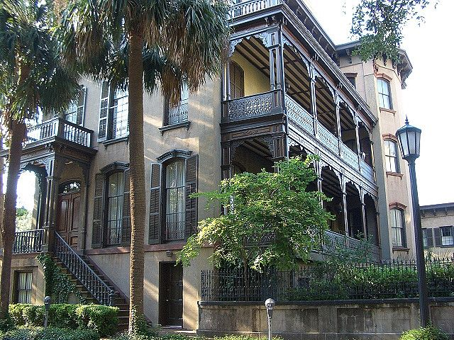 Historic Home - Savannah Georgia #historichomes