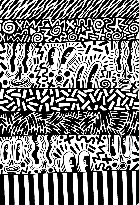 Hattie Stewart Illustration Keith Haring Elements Of Art