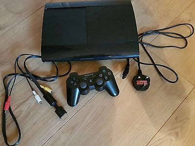 Sony PS 3 Super Slim 500 GB Charcoal Black Console with Controller https://t.co/tNx1meAwAp https://t.co/qrm6OlwwMR