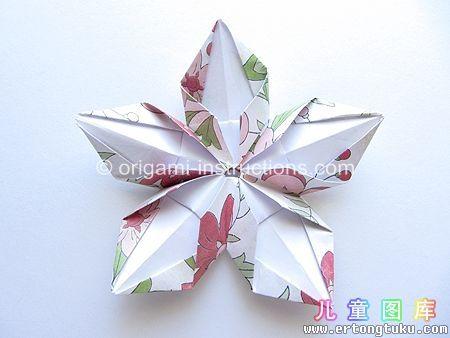 Photo diagrams for 5 point origami starflower origami pinterest photo diagrams for 5 point origami starflower mightylinksfo