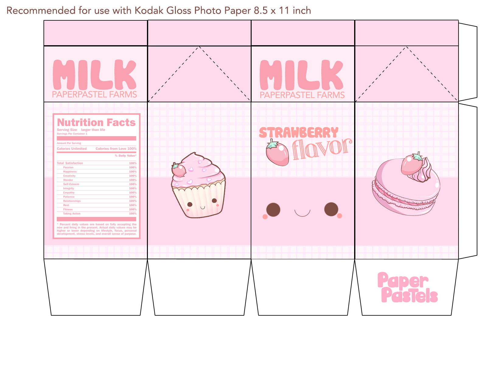 milk carton printable box  Google Search  Crafty for Kiddos