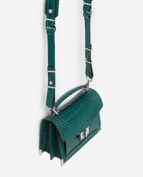 768b35f75989 SAC EMBOSSE CUIR SMALL - THE KOOPLES FEMME   Bags