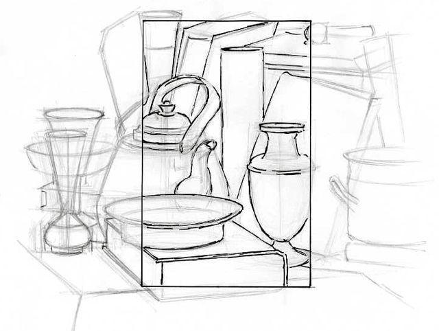 8cec53de83c555 Still Life | Drawings in 2019 | Thumbnail sketches, Art worksheets ...