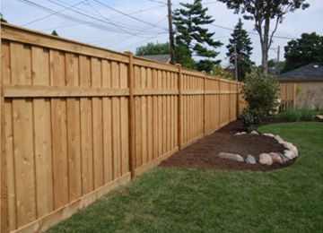 Backyard Fence Ideas Woodan Fence  Design Ideas For Decorating Your Home Exterior Custom Craftsman Natural Pine Wood  Fence Design Large Backyard