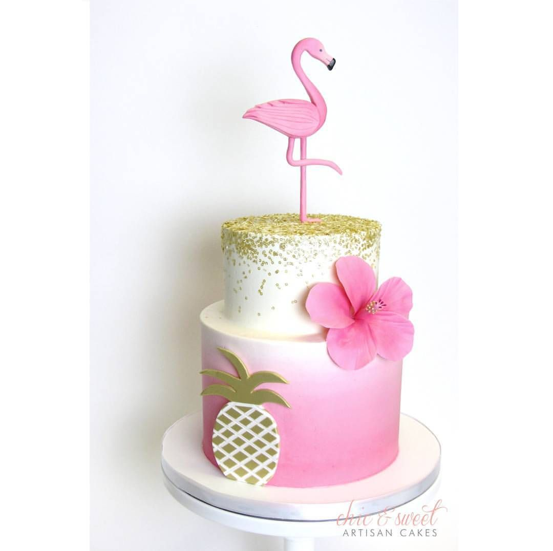 Chic And Sweet Artisan Cakes Cakes Tropical Hawaii Pinterest