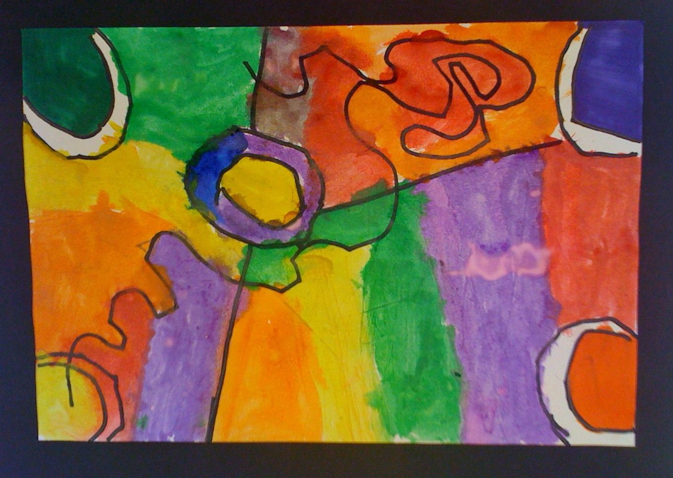 Kandinsky Abstract Painting Free Lesson Plan