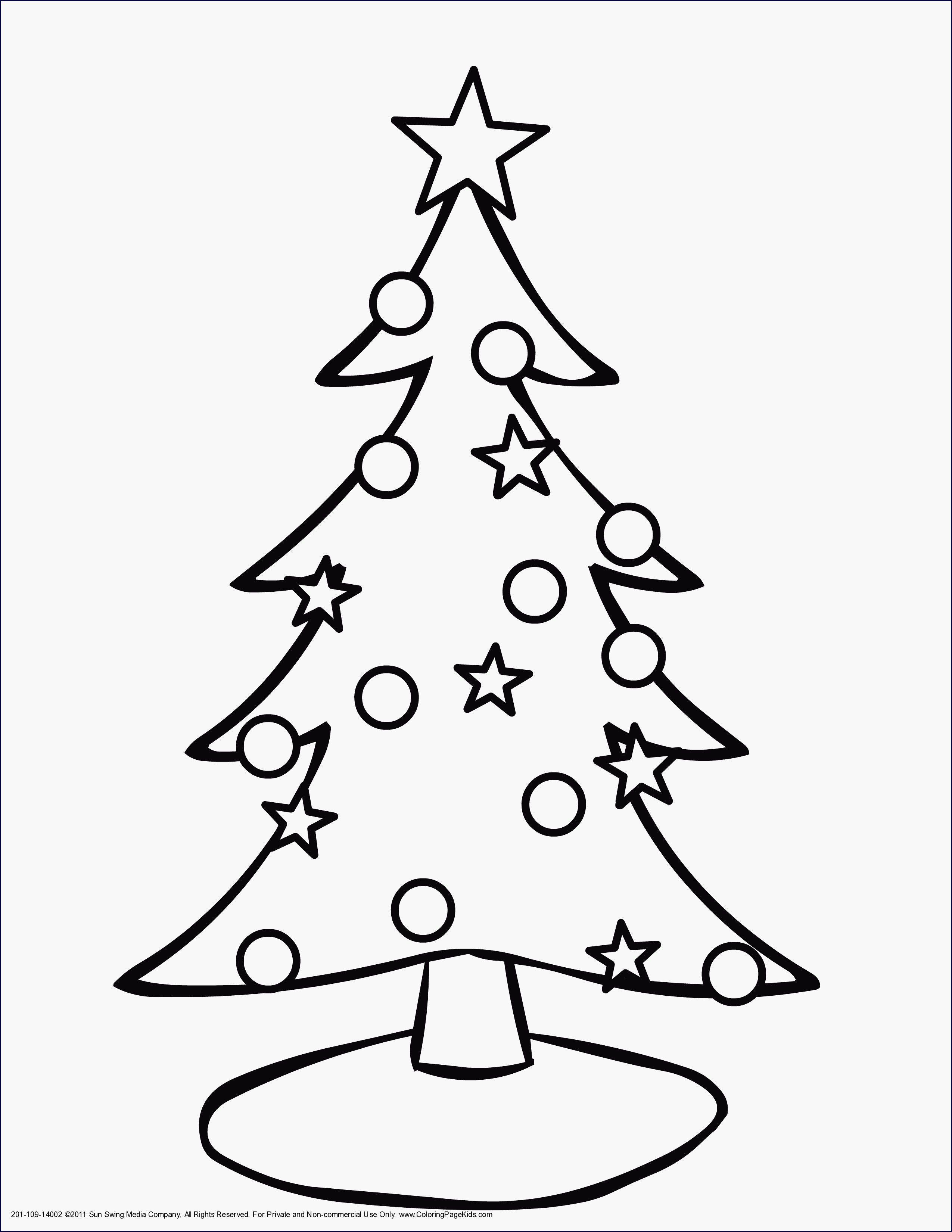 Einzigartig Weihnachtsbaum Vorlage #Malvorlagen