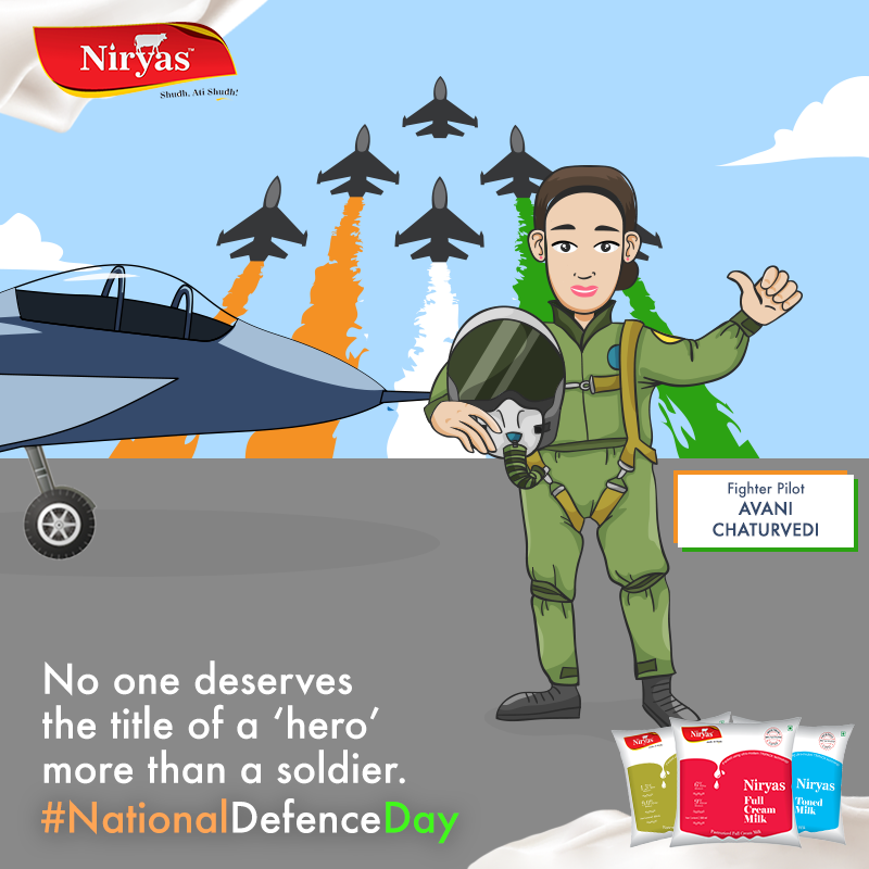 We salute the spirit of Flying Officer Avani