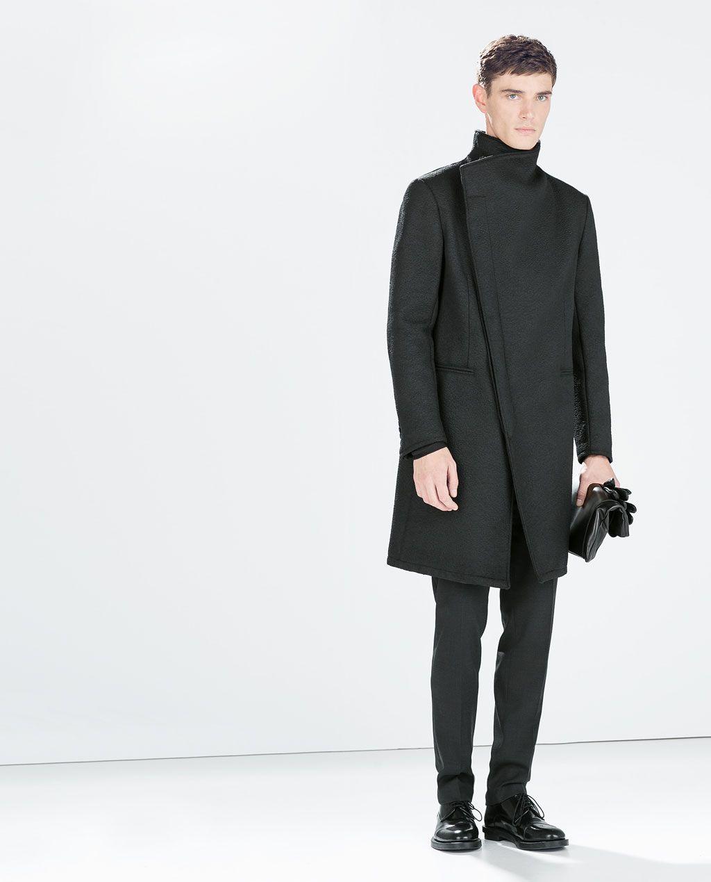 Image 1 de MANTEAU COULEUR MARENGO FANTAISIE de Zara | Wear