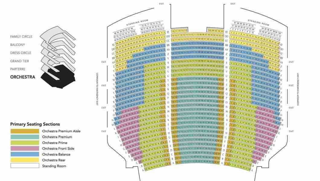 15 Best Of Orpheum Theater Omaha Seating Chart Orpheum