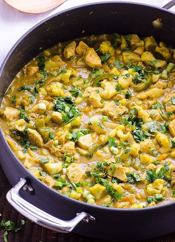 30 minute chicken and cauliflower yellow curry recipe easy 30 minute chicken and cauliflower yellow curry recipe easy healthy and budget friendly forumfinder Gallery