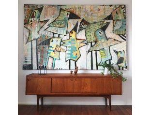 Trine Birkenfeldt 160x250cm Kunstnere Bronzeskulptur Kunst