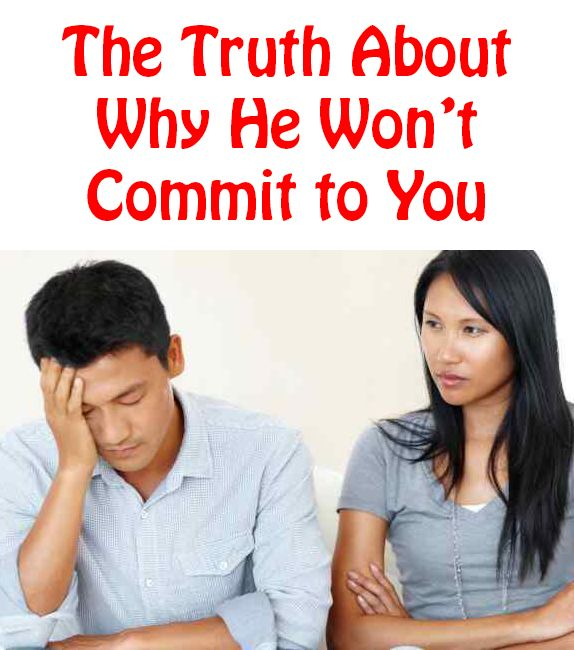 Why guys wont commit to dating