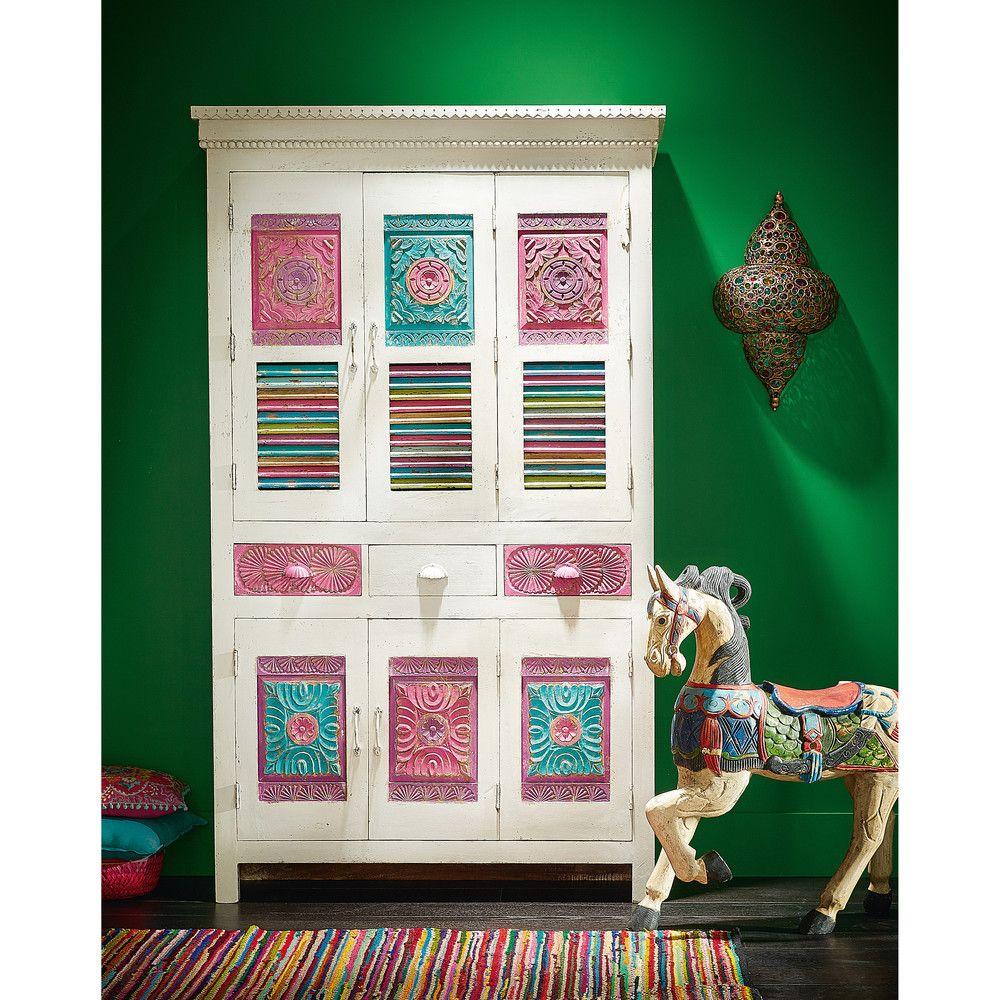 Tapis Tresse En Coton Multicolore 140 X 200 Cm Tapis Tresse Tapis Et Mobilier De Salon