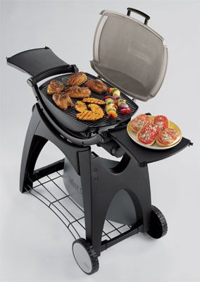 Weber Q220 Propane Grill. Canu0027t Have Charcoal At The Apartment, But This