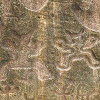 Piedra pintada, en Aipe, importante centro donde los indígenas realizaban el trueque.