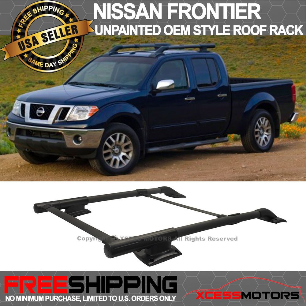 For 05-17 Nissan Frontier 4DR OE Style Roof Rack Cargo Carrier ...