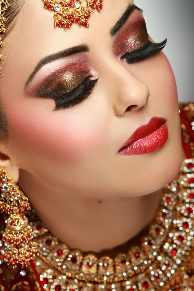 Bridal Makeup Bridal Beautiful Wedding Bridal Makeup Indian